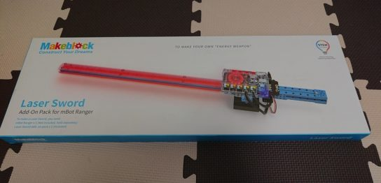 mBotranger Add-onPack Laser Sword